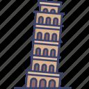europe, historical, landmark, leaning, monument, tower, world icon