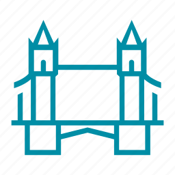 england, great britain, landmark, london, sight, tourism, tower bridge icon