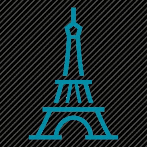 eiffel tower, france, french, landmark, paris, sight icon