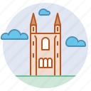 architecture, cathedral, historic, medieval, scotland, st andrews icon