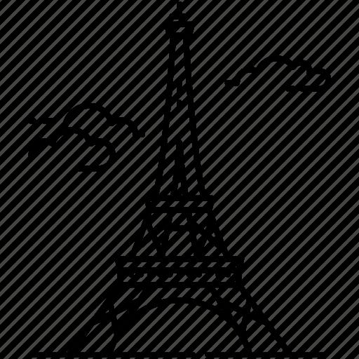 architecture, eiffel tower, france, landmark, monument, paris icon