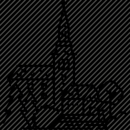 Architecture, bled, church, landmark, pilgrimage church, slovenia icon - Download on Iconfinder