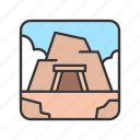 canyon, landscape, mine, rock, stone icon