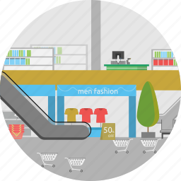 background, department store, market, retail, shop, store, supermarket icon