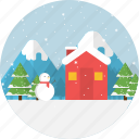 merry christmas, snowman, winter, snow, background, holiday, xmas