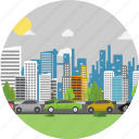 background, car, road, street, traffic, traffic jam, transport icon