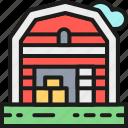 agriculture, barn, farm, field, house, landscape, outdoor