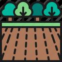 agriculture, environment, farm, field, garden, landscape, tree