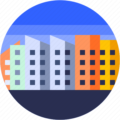 Free Buildings Icons - Building Flat Icon Png - Free Transparent ...   512x512