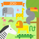 animal, animals, lion, toucan, wild, zebra, zoo icon
