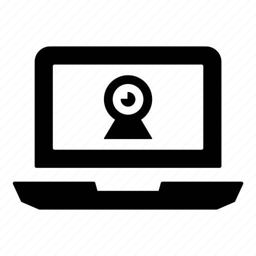 convertible laptop, hybrid laptop, laptop, notebook, pc, personal computer, webcam icon