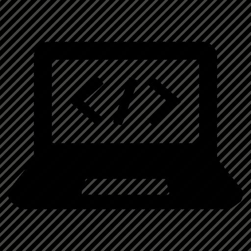 html, laptop, web application, web design, web development, web programming, website icon