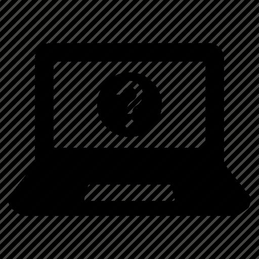 computer, laptop, laptop computer, laptop manual, manual, mobile computer, user manual icon