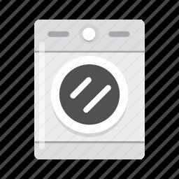 clean, electronic, laundry, wash, washing machine icon