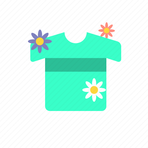clean, clothes, flower, fragrance, laundry, wash icon