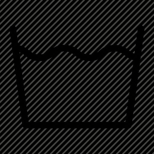 Laundry, machine, wash, water icon - Download on Iconfinder
