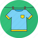 laundry, dry, washing, shirt, hang, tshirt, clothes