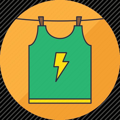 clothes, hang, laundry, shirt, tshirt, washing, wear icon