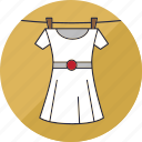 clothes, clothing, dress, hang, laundry, shirt, washing icon