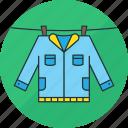 laundry, clothes, clothing, hang, jacket, shirt, washing