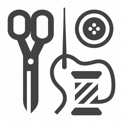 clothing, repair, sewing, tailor icon