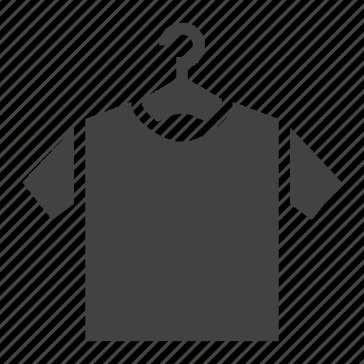 clothes, hanger, laundry, tshirt icon