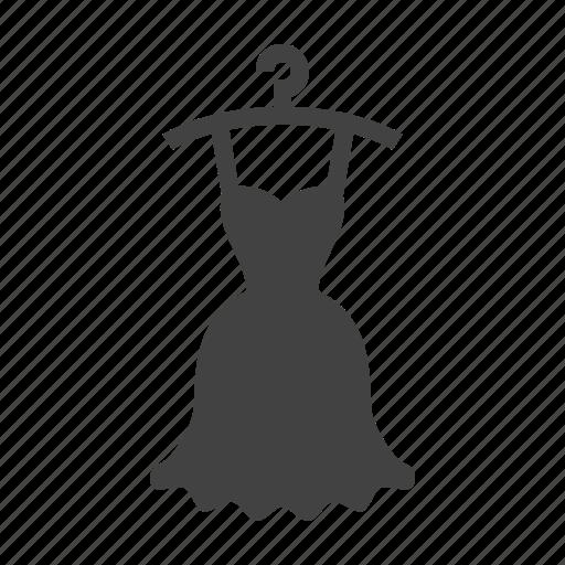 dress, evening, laundry, wedding icon