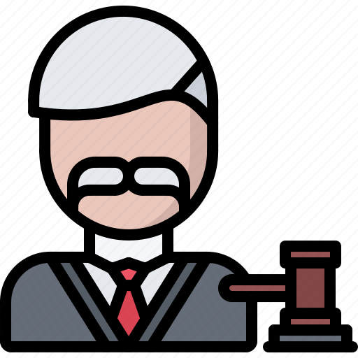 court, gavel, judge, justice, law, lawyer icon