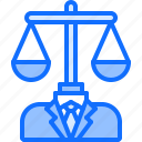 court, justice, law, lawyer, man, scales, suit