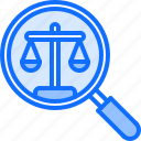 court, justice, law, lawyer, magnifier, search