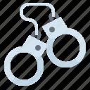 arrest, chain, handcuff, officer, police