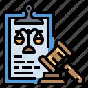 document, gavel, judge, law, legal