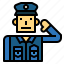 policeman, security, people, professions
