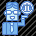 lawyer, judge, people, man
