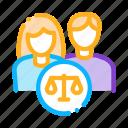 court, family, judgement, law