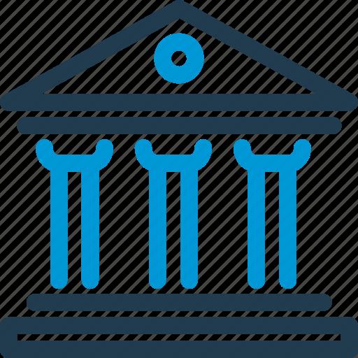 Building, court, crime, goverment, judgement, justice, law icon - Download on Iconfinder