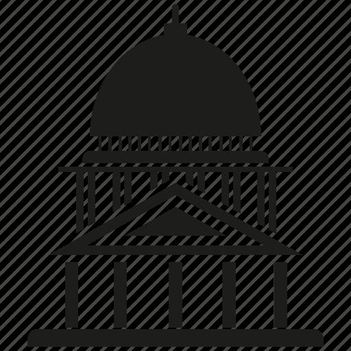 building, chancery, court, hall, judiciary, tribunal icon