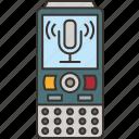 dictaphone, voice, recorder, audio, digital