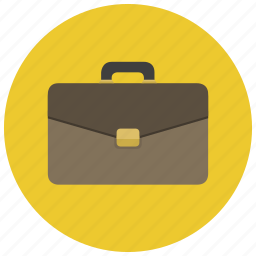 attache case, brief case, briefcase, business, law, lawyer icon
