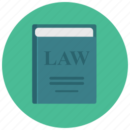 book, civil code, code of law, law, legal, legal treatise, statute book icon
