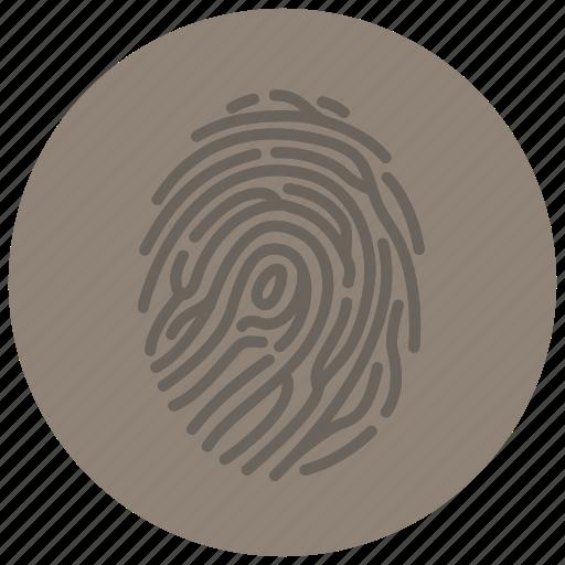 crime, criminal, evidence, fingerprint, forensic, law, scene icon
