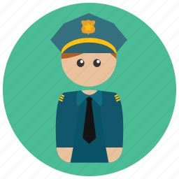 arrest, cop, crime, enforcement, law, officer, police icon