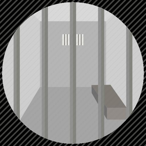 arrest, cell, crime, criminal, jail, law, prison icon