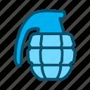 bomb, dynamite, grenade