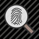 finger, hand, print, scanning