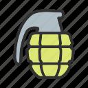 army, bomb, grenade, police icon