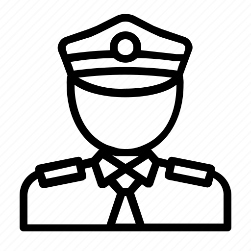 copper, cops, law, police, police officer, policeman icon