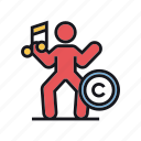 choreography, copyright, dance, dancing, moves icon