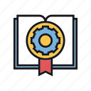 cog, intellectual, option, property, settings icon