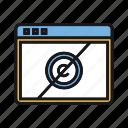copyright, domain, license, non, profit, public icon